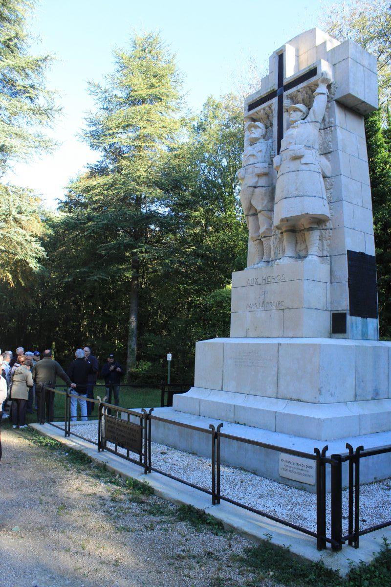 La Croix des Carmes, monument commémoratif 1914 - 1918