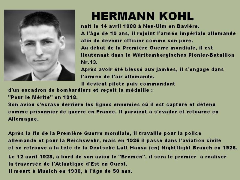 Carnet de guerre de Hermann Kohl, verso du document