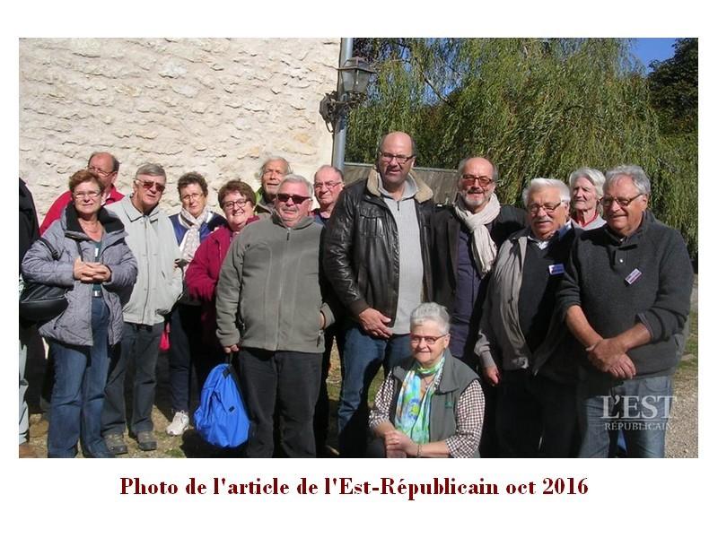 Article Est Républicain sur le groupe Hist'Orius