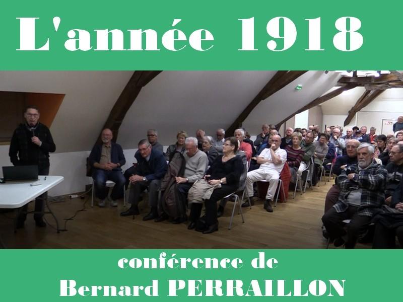 Conférence Bernard PERRAILLON