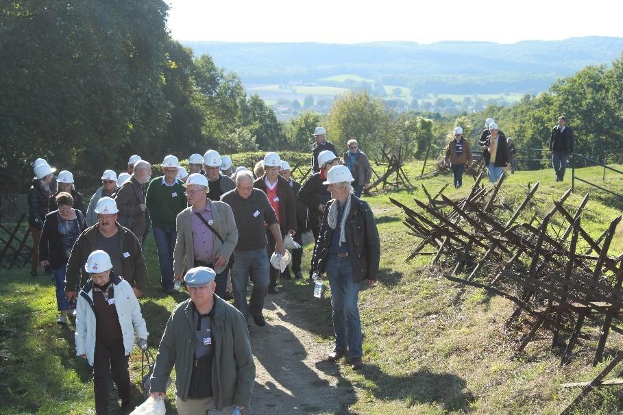 Le groupe Hist'Orius à Vauquois