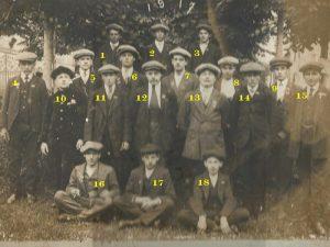 Montoire, classe de conscrits 1917