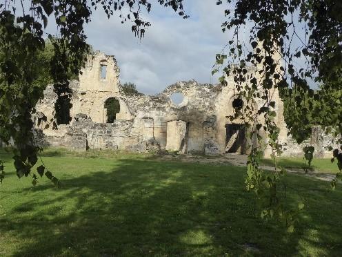 Vestiges Abbaye de Vauclair